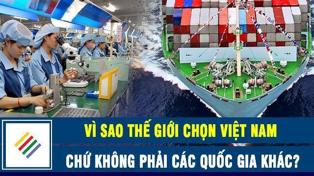 Vì sao thế giới chọn Việt Nam chứ không phải các quốc gia khác ?