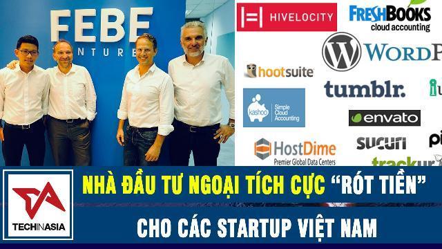"""Tech in Asia: Nhà đầu tư ngoại tích cực """"rót tiền"""" cho các startup Việt Nam"""