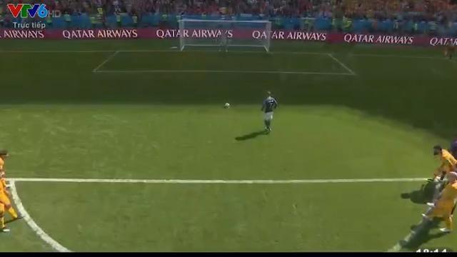 Pha ghi bàn đầu tiên của đội Pháp