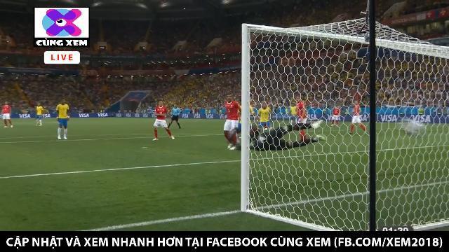 Cứa lòng đẳng cấp, Coutinho mở tỉ số cho Brazil