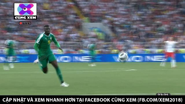 Hậu vệ và thủ môn Ba Lan mắc sai lầm, Senegal nâng tỉ số lên 2 - 0
