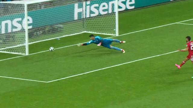 Tây Ban Nha phá vỡ thế bế tắc bằng bàn thắng may mắn của Diego Costa