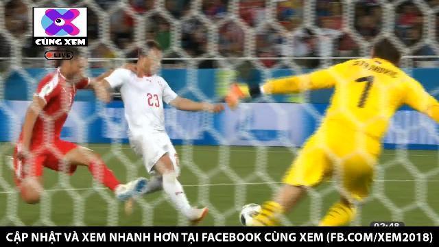 Serbia 1-2 Thụy Sĩ: Shaqiri tung đòn kết liễu