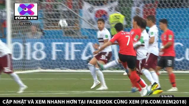 Hàn Quốc có bàn thắng đẹp mắt vào phút 90 +3