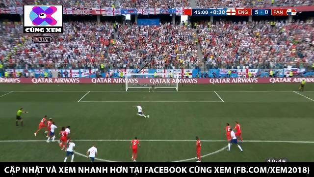 Harry Kane nâng tỉ số lên 5 - 0 cho tuyển Anh