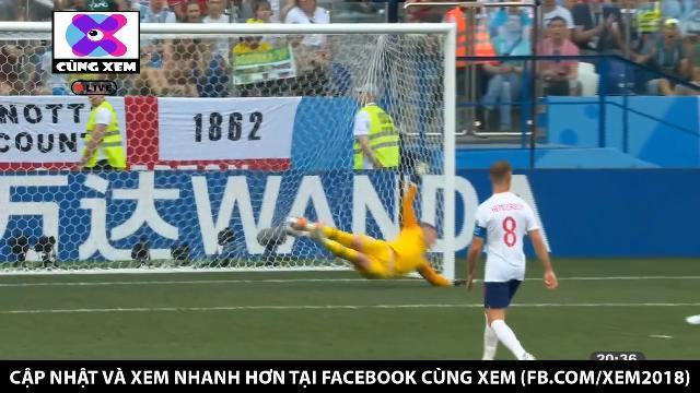 Panama có bàn thắng đầu tiên ở World Cup vào lưới đội tuyển Anh