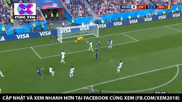 Nhật có bàn thắng gỡ hòa sau pha phối hợp đẹp mắt