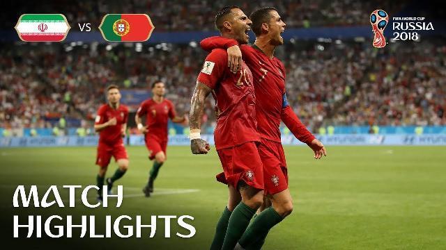 Hightlights trận đấu Iran và Bồ Đào Nha