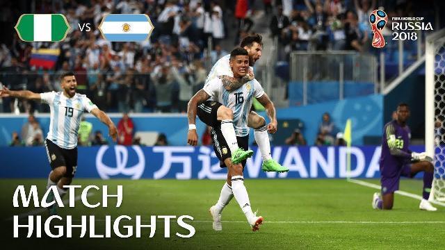 Highlights trận Nigeria và Argentina: Messi và Rojo đưa Argentina qua khe cửa hẹp