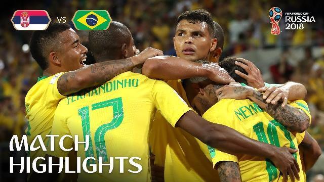 Brazil 2-0 Serbia: Selecao nhàn nhã vào vòng 1/8