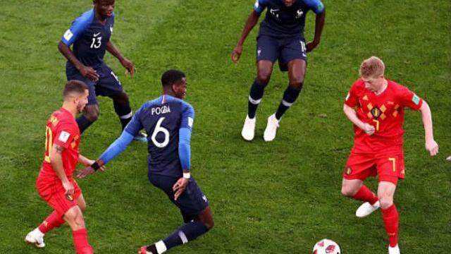 Pháp - Bỉ: Khoảnh khắc vàng, Pháp hiên ngang vào chung kế