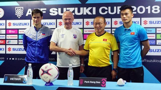 HLV Park Hang-seo 'Mục tiêu tiếp theo của Việt Nam là thắng Philippines