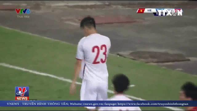 Đội tuyển Việt Nam hòa Triều Tiên trong trận giao hữu
