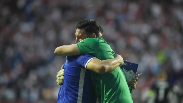 Việt Nam đá bại Jordan trên chấm luân lưu