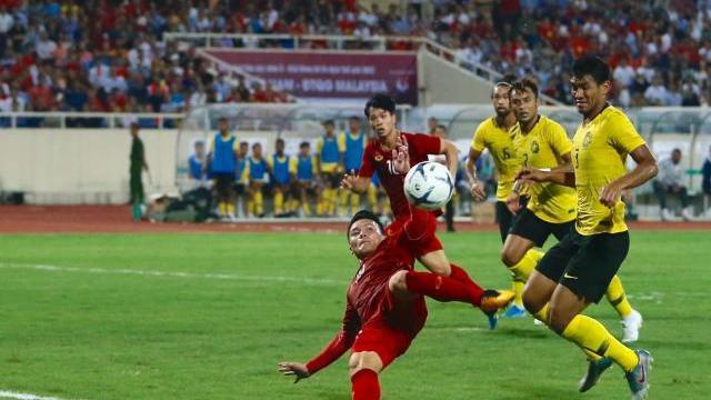 Siêu phẩm Quang Hải ghi bàn thắng cho tuyển Việt Nam