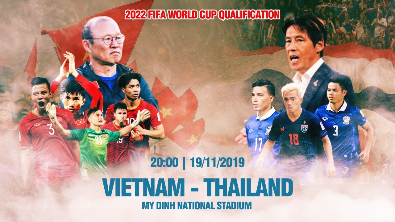 LIVE | VIETNAM - THAILAND | 2022 FIFA World Cup qualification | CANHCO