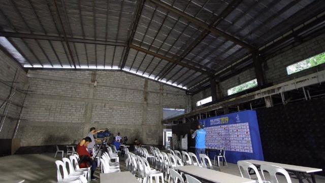 SEA Games 30: Phòng họp báo của Philippines nhìn như nhà kho