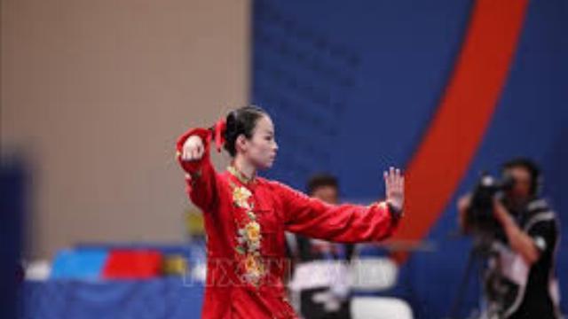 Huy chương bạc thế giới Trần Thị Minh Huyền nuối tiếc vì chỉ đạt được HCĐ môn Wushu SEA Games 30.