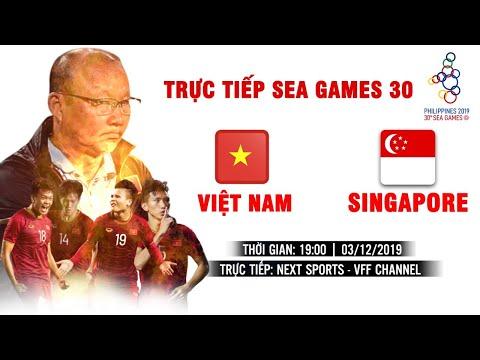 TRỰC TIẾP | U22 VIỆT NAM - U22 SINGAPORE | BÓNG ĐÁ NAM SEA GAMES 30