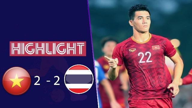 Highlights SEA Games 30: U22 Việt Nam 2-2 U22 Thái Lan