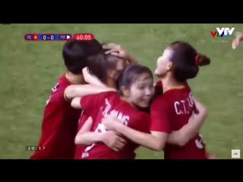 FULL Highlights Nữ Việt Nam vs Philippines | Bán kết bóng đá nữ SEA Games 30