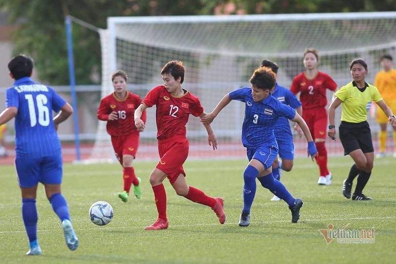 Trực tiếp chung kết ĐT Nữ Việt Nam - ĐT Nữ Thái Lan