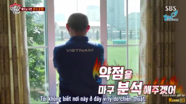 HLV Park Hang Seo trong show thực tế Hàn Quốc