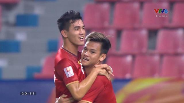 VIDEO: Tiến Linh ghi bàn đầu tiên cho U23 Việt Nam ở U23 châu Á