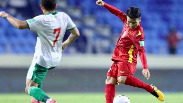 Quang Hải ghi bàn nâng tỷ số lên 2-0