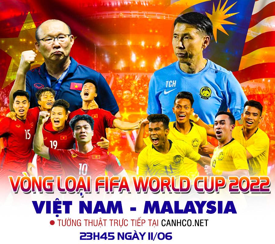 Trực tiếp | Malaysia - Việt Nam | Vòng loại World Cup 2022