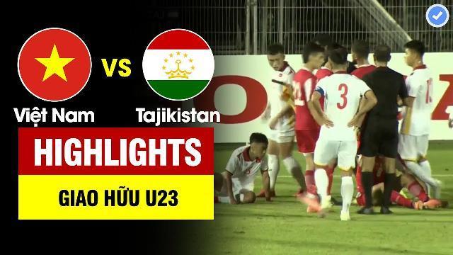 U23 Việt Nam vs U23 Tajikistan