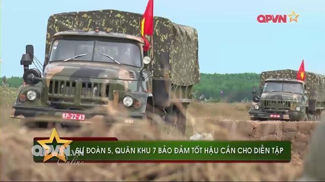 Tiết lộ công tác chuẩn bị cho cuộc diễn tập quy mô lớn của Quân đội