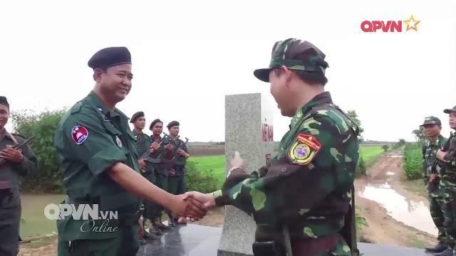 Giao lưu hữu nghị biên giới Việt Nam Campuchia Lần 1