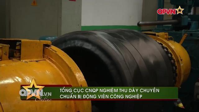 Việt Nam sản xuất thành công lốp xe thiết giáp