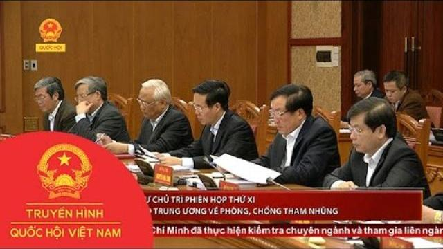Tổng Bí thư chủ trì phiên họp thứ XI ban chỉ đạo trung ương về phòng, chống tham nhũng