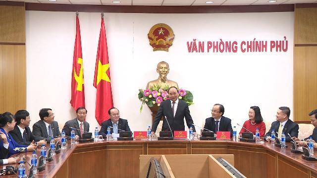 Thủ tướng Nguyễn Xuân Phúc tiếp Hiệp hội Phát triển hàng tiêu dùng Việt Nam