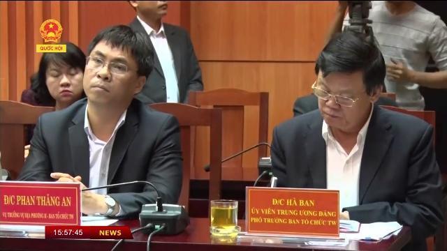 Trưởng ban Tổ chức Trung ương Phạm Minh Chính thăm và làm việc tại Quảng Nam