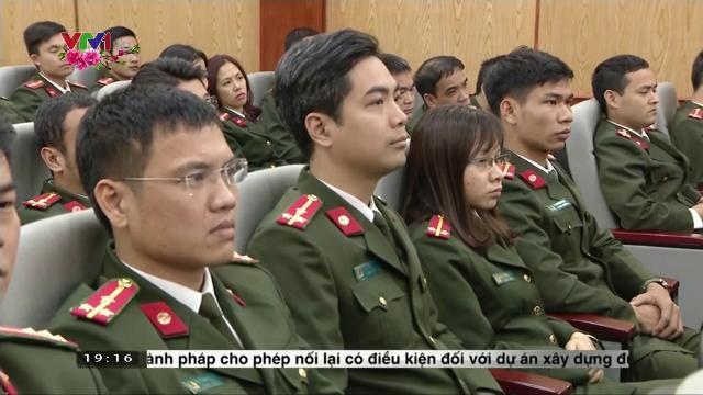 Chủ tịch nước Trần Đại Quang kiểm tra công tác và chúc tết Cục An ninh mạng