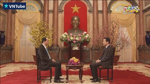 Chủ tịch nước trả lời phỏng vấn Đài truyền hình TP.HCM HTV9 trước thềm năm mới Đinh Dậu