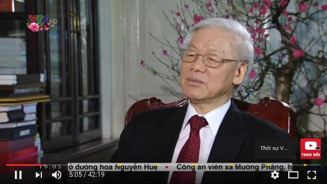 Thời sự VTV1 19h hôm nay ngày 27/1/2017 - Tổng Bí thư Nguyễn Phú Trọng trả lời phỏng vấn