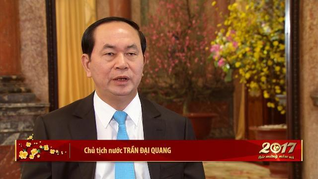 Nhìn lại năm 2016 và những đánh giá của Chủ tịch nước Trần Đại Quang