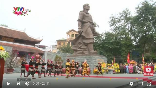Thời sự VTV1 12h ngày 1/2/2017 - Hào khí Tây Sơn tại lễ hội Gò Đống Đa và Bình Định