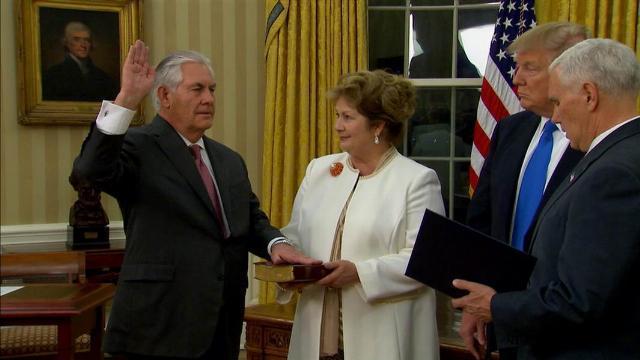 """Thời sự VTV1 12h ngày 2/2/2017 - Mỹ chính thức có ngoại trưởng mới """"thân"""" Nga"""