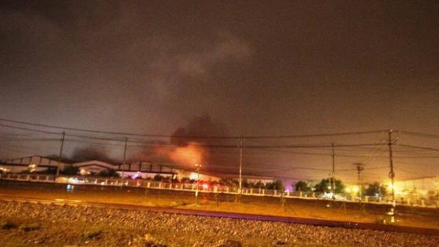 Thời sự VTV1 12h ngày 3/2/2017 Cháy lớn ở Công ty ôtô Trường Hải Quảng Nam