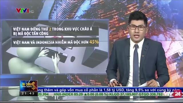 Báo động tình trạng bị mã độc tấn công tại Việt Nam | VTV24