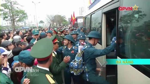 Toàn cảnh Thanh niên Việt Nam lên đường nhập ngũ 2017