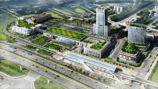 Bến xe Miền Đông mới của TP HCM trong tương lai