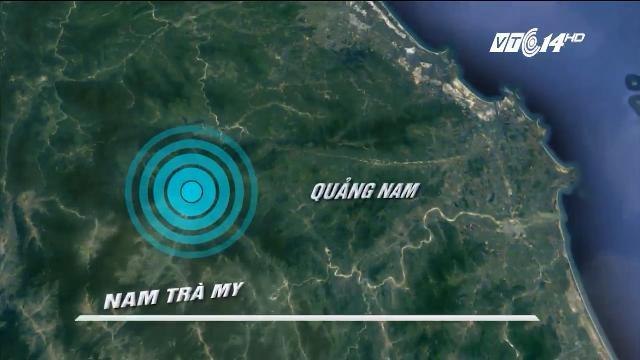 Động đất 3,9 độ Richter gần thủy điện sông tranh 2