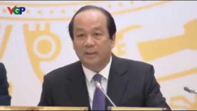 Bộ trưởng _ Chủ nhiệm Văn phòng Chính phủ Mai Tiến Dũng nói về vụ đòi lại vỉa hè ở Quận 1