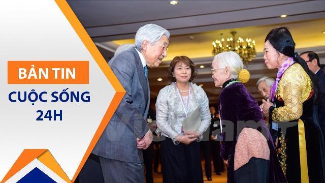 Nhật hoàng và Hoàng hậu thăm cựu quân nhân